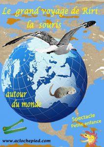 Affiche Le grand voyage de Riri autour du monde